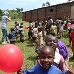 kinderen zijn snel blij (ballon)